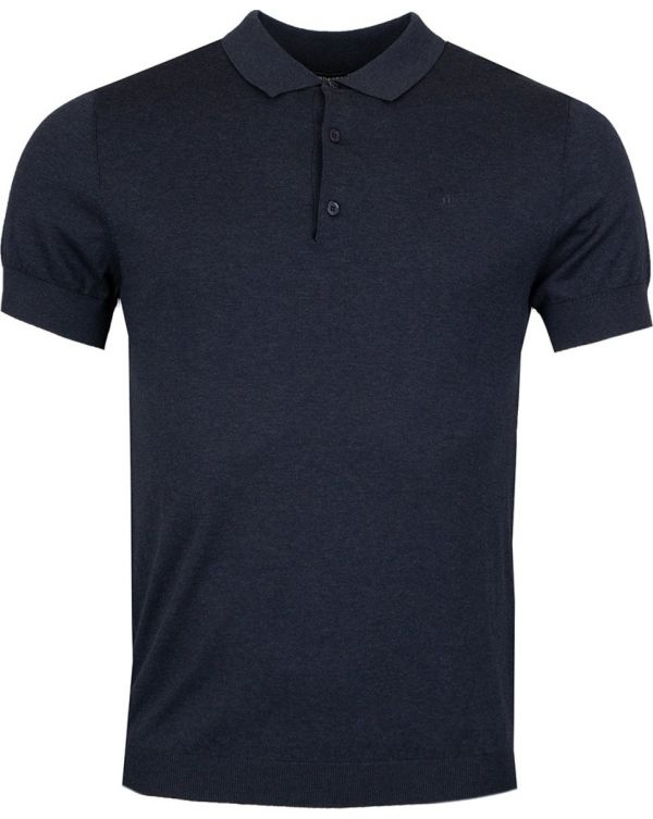 Ridge Short Sleeved Knitted Polo