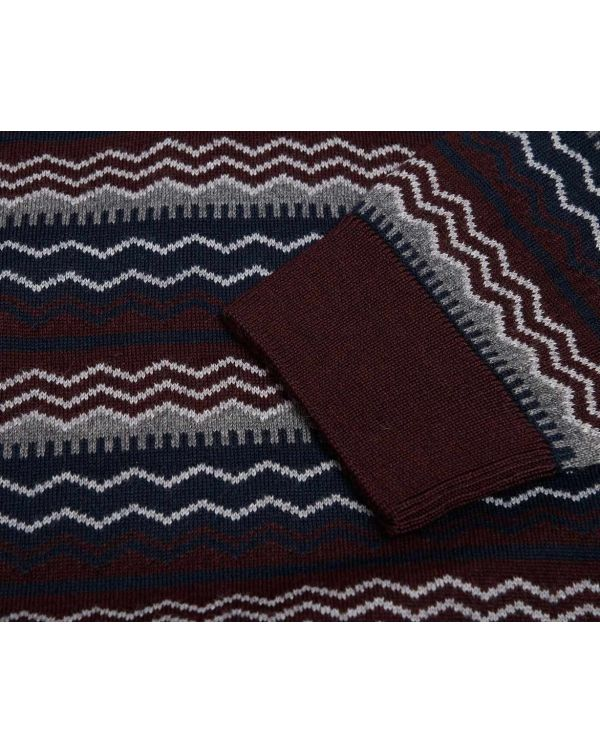 Fairisle Crew Neck Knit