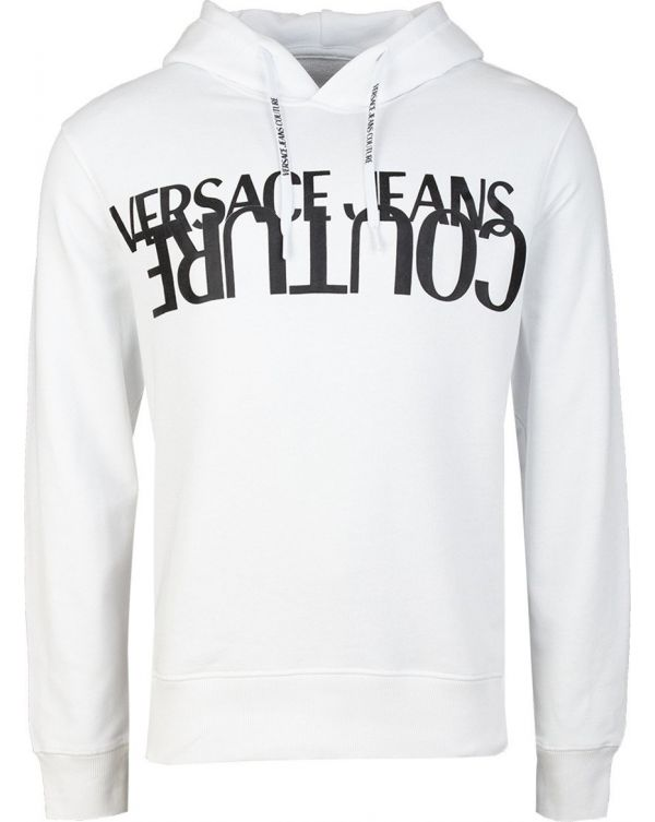 Chest Logo Pop Over Hooded Top