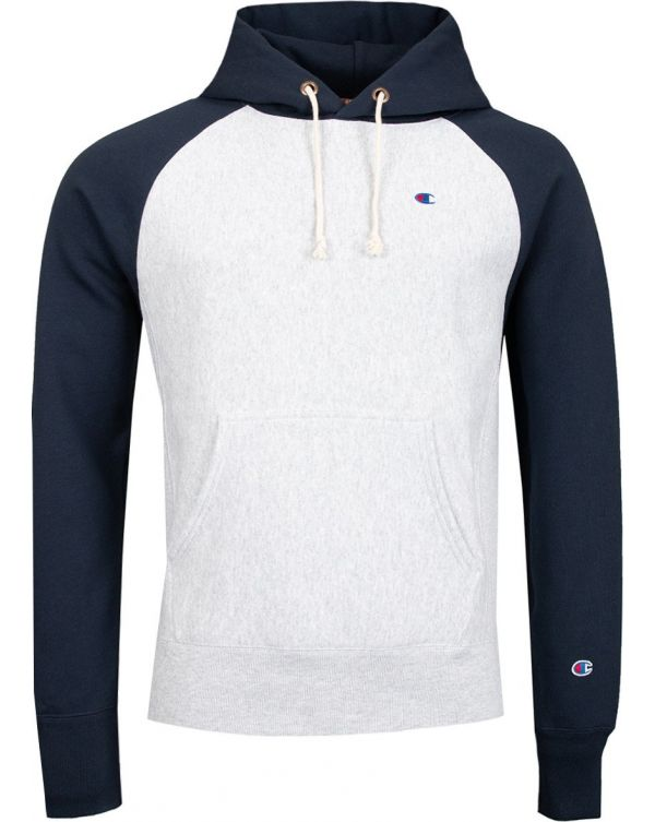 Contrast Colour Pop Over Hoody