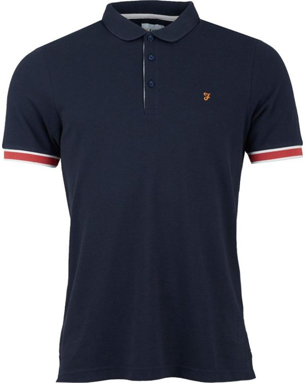Wade Tipped Cuff Polo Shirt