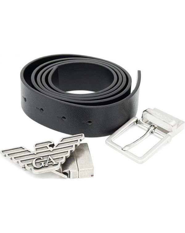 Leather Belt And Buckle Gift Set