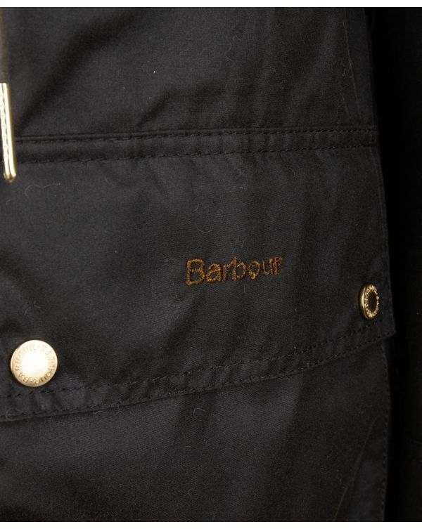 Birches Parka Style Waxed Jacket