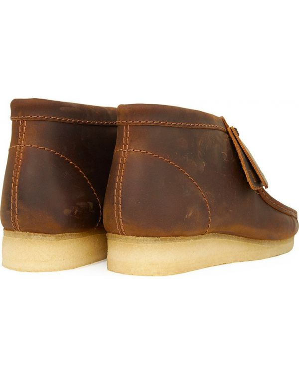 Leather Wallabee Boots