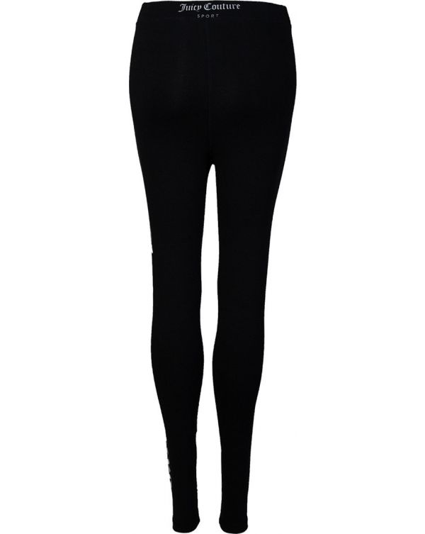 Charlotte Metallic Logo Leggings
