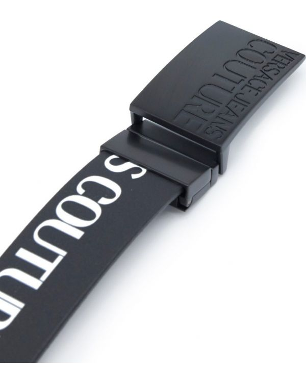 Couture Logo Leather Belt