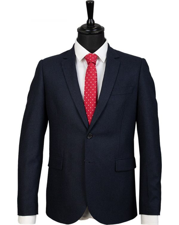 Plain Wool Suit