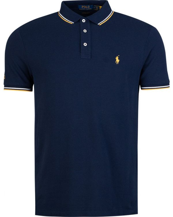 Short Sleeved Tipped Polo Shirt