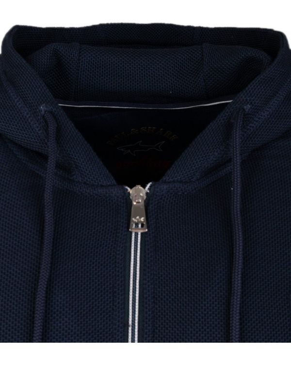 Waffle Zip Through Track Top