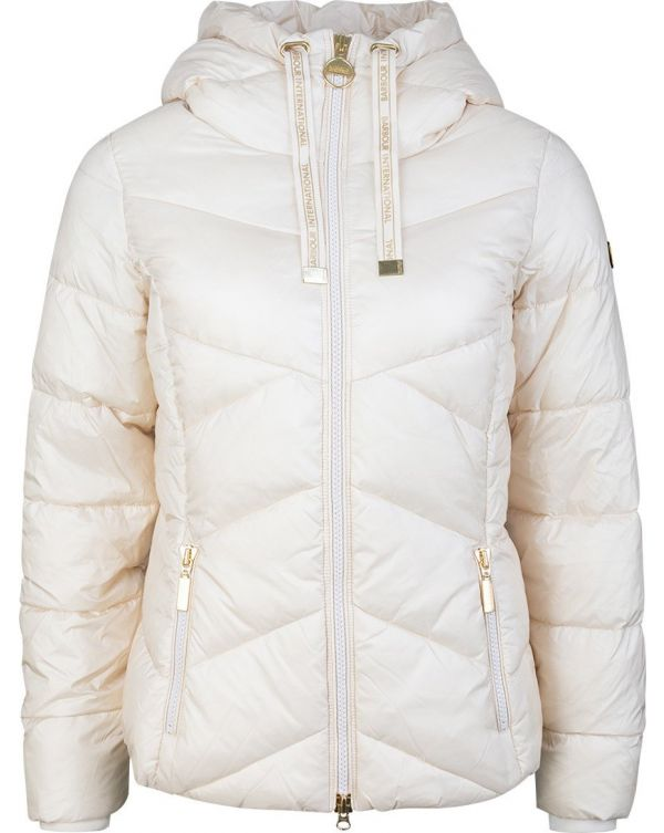 Lydden Quilted Hooded Jacket