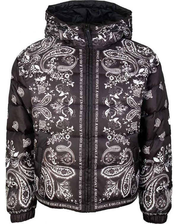 Paisley Print Hooded Jacket