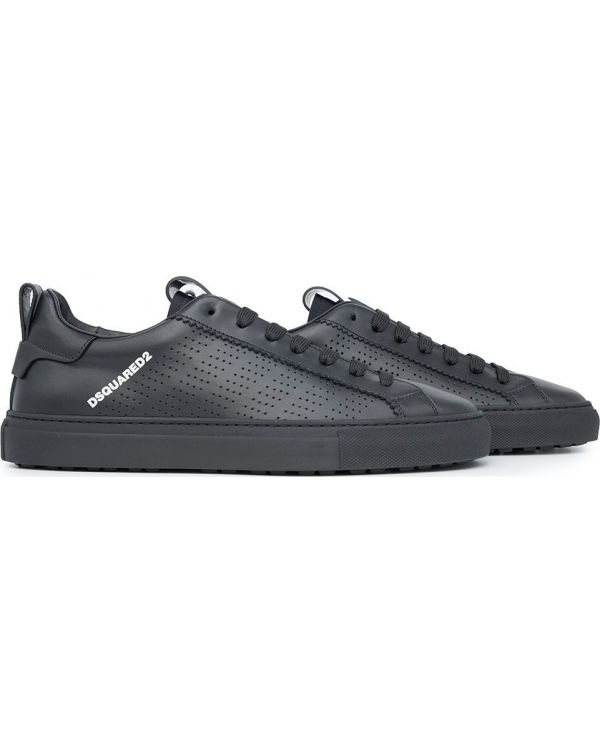 Leather Perforated Sneakers