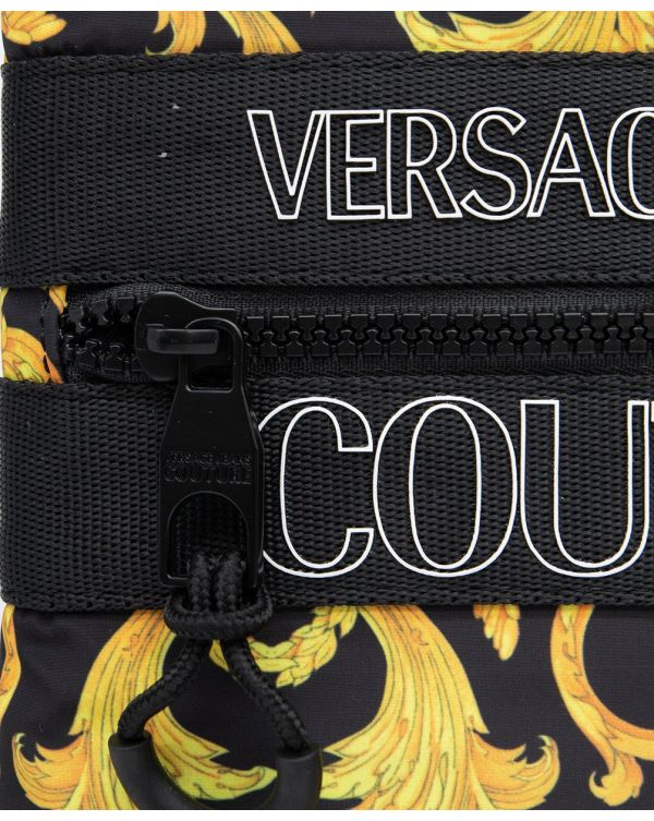 All Over Baroque Print Stash Bag