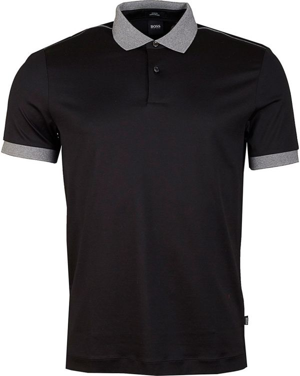 Penrose Mercerized Zip Neck Polo