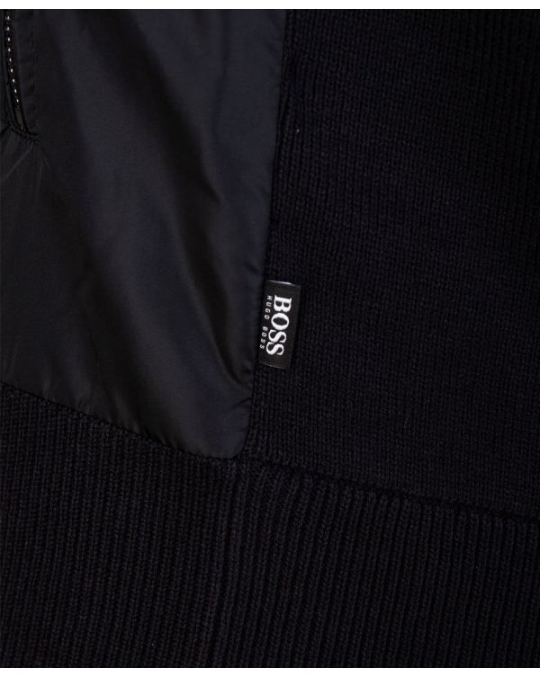 Mobili Nylon Mix Hooded Knit