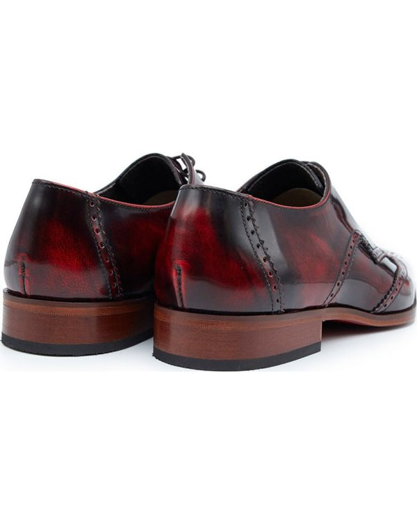 Escobar Wing Tip Two Tone Shoes