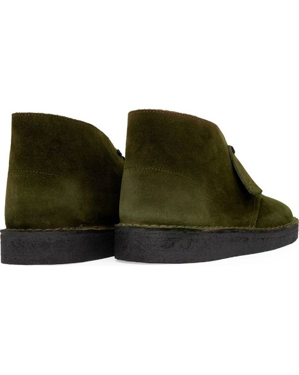 Suede Coal Boots