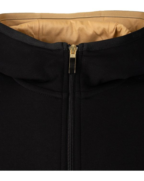 Saggy 2 Zip Through Hooded Top