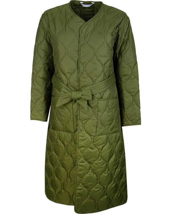Martha Quilted Vintage Trench Coat