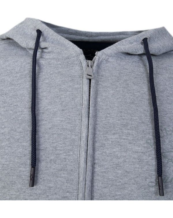 Zip Through Hooded Top