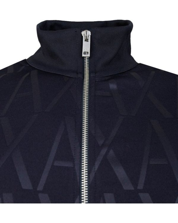 All Over Logo Track Top
