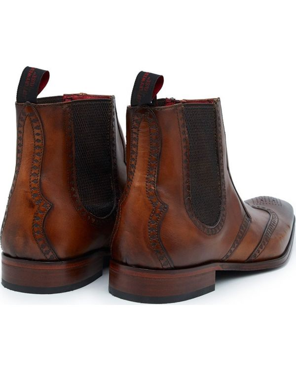 Scarface Brogue Chelsea Boots