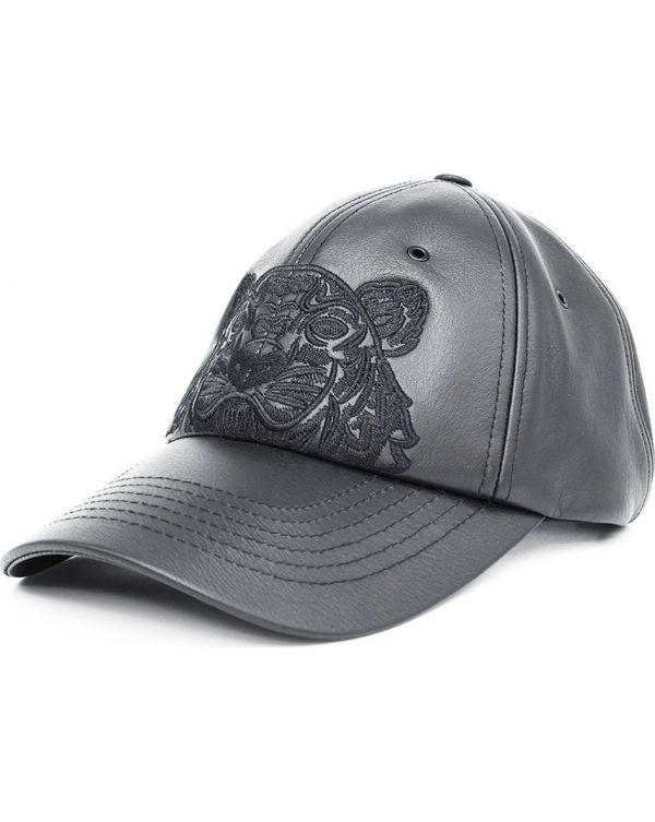 Icons Leather Tiger Cap