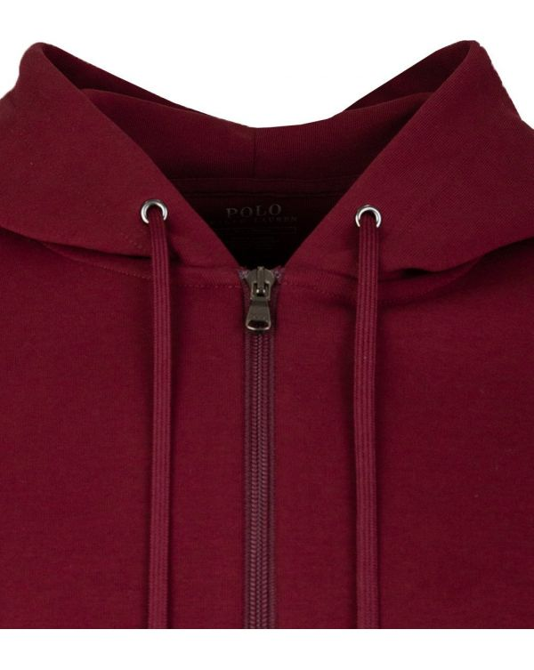 Double Knit Zip Through Hooded Sweat