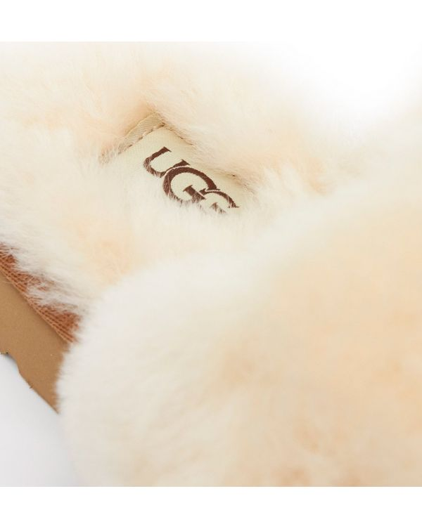 Shearling Knitted Slippers