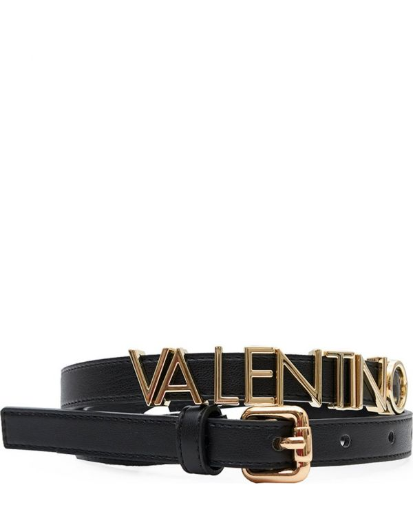 Emma Winter Narrow Text Logo Belt