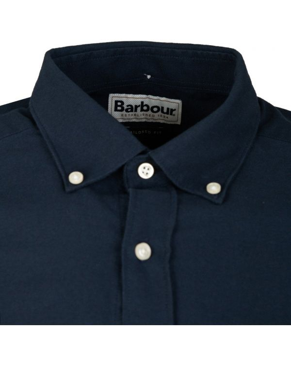 No3 Tailored Long Sleeved Oxford Shirt