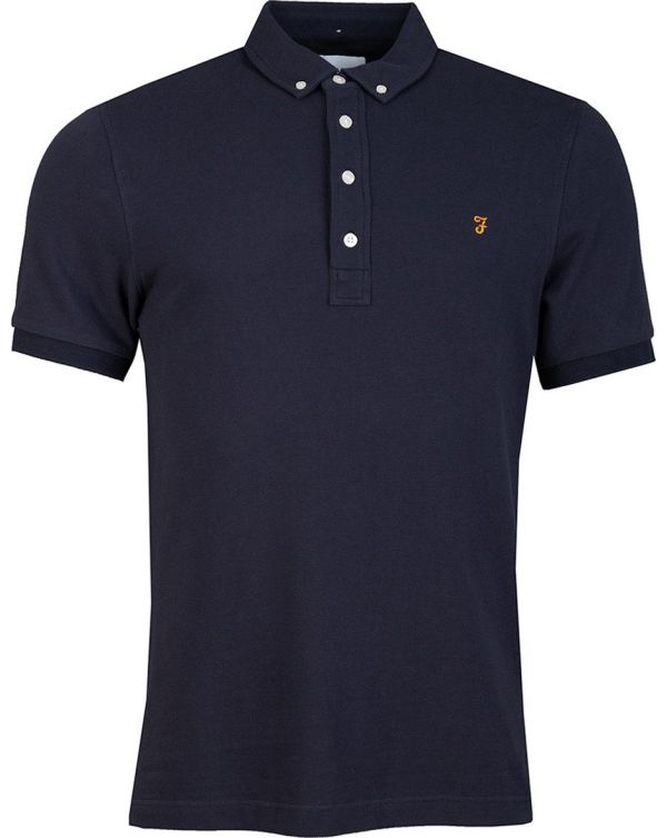 Ricky Button Down Polo Shirt