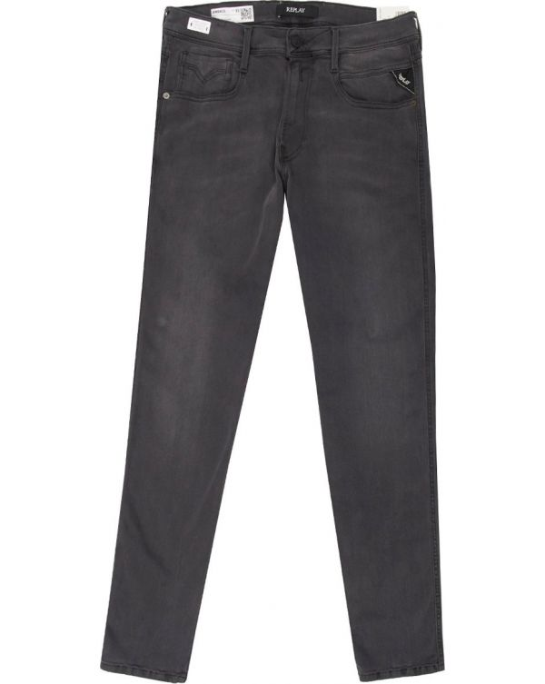 Anbass Slim Fit Re Used Hyperflex Jeans