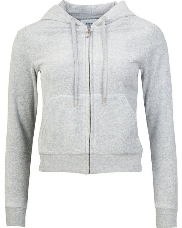 Robertson Core Zip Through Velour Hoody