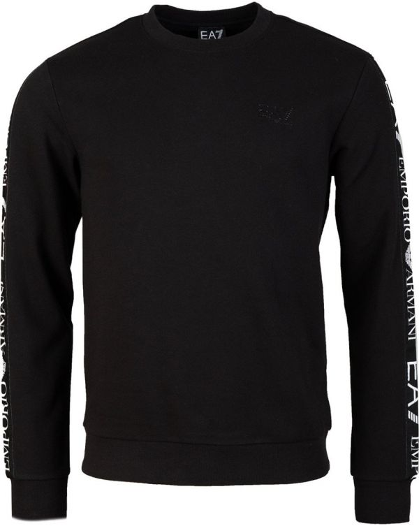 Train Logo Taped Crew Neck Sweat
