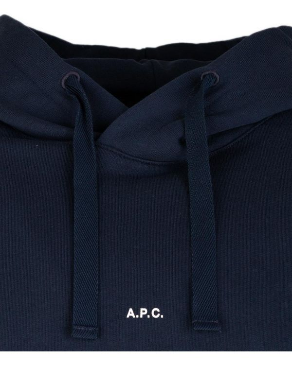 Larry Micro Logo Pull Over Hooded Top