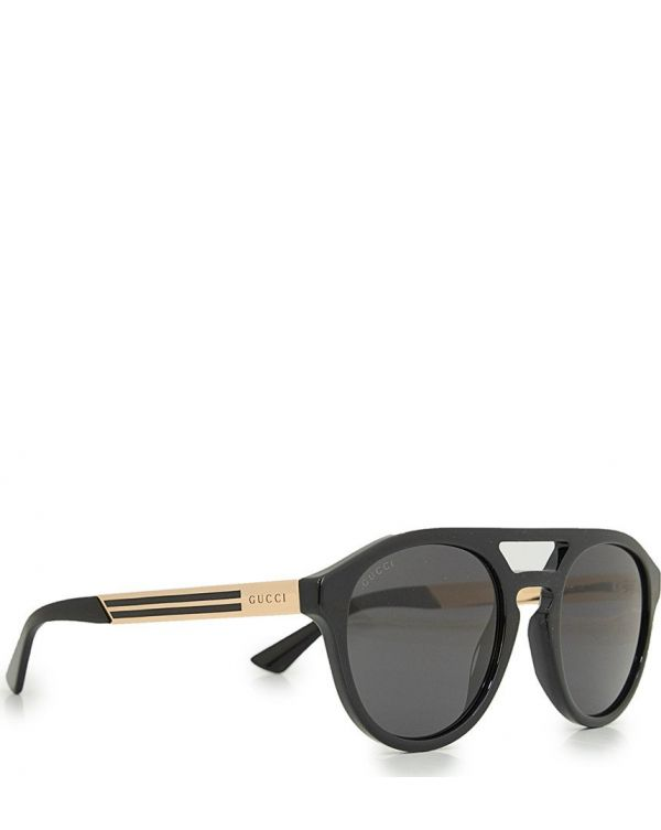 Round Aviator Sunglasses