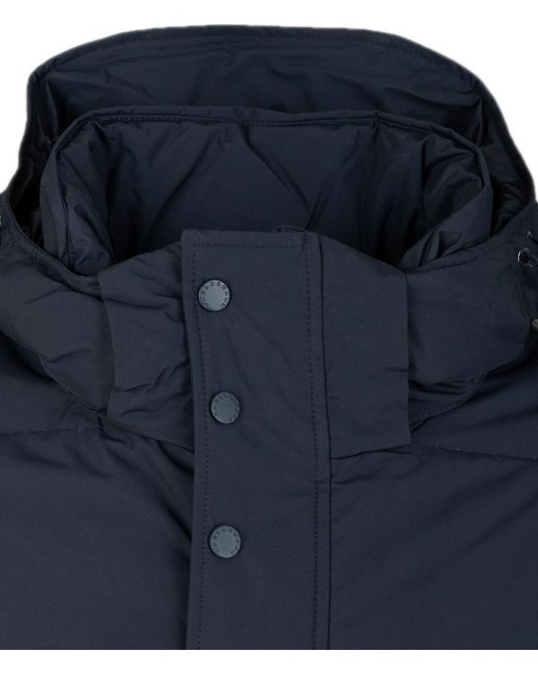 Padded Hooded Down Jacket