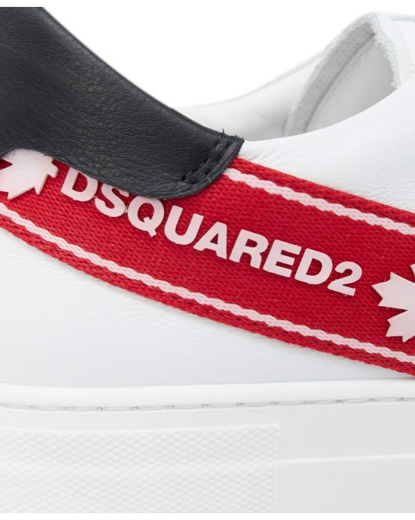 Taped Logo Lace Up Trainers