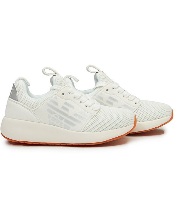 Mesh Lace Up Trainers