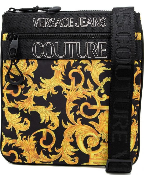 All Over Baroque Print Pouch Bag