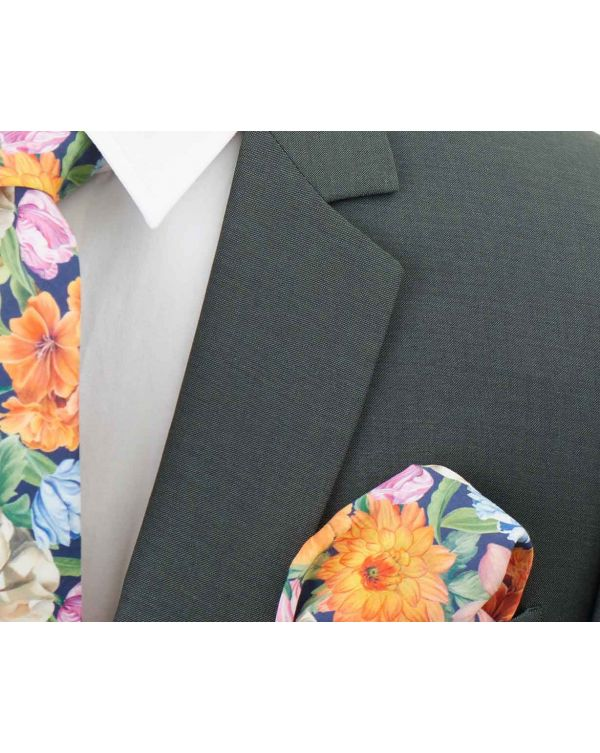 Two Button Slim Fit Wool Mohair Suit