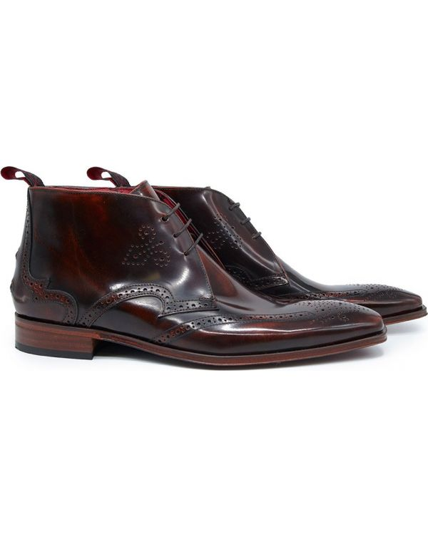 Scarface Brogue Chukka Boots