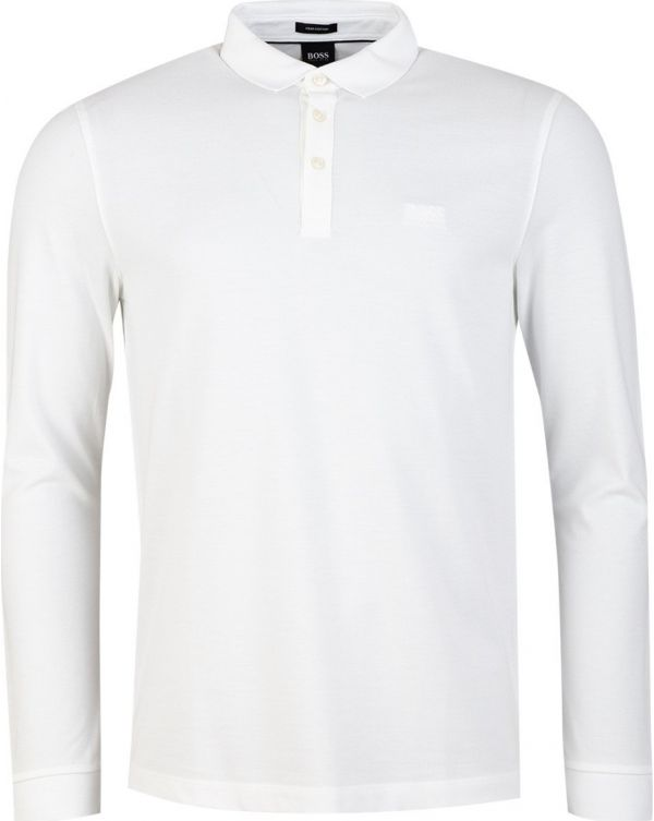 Pado 10 Long Sleeved Pique Polo Shirt