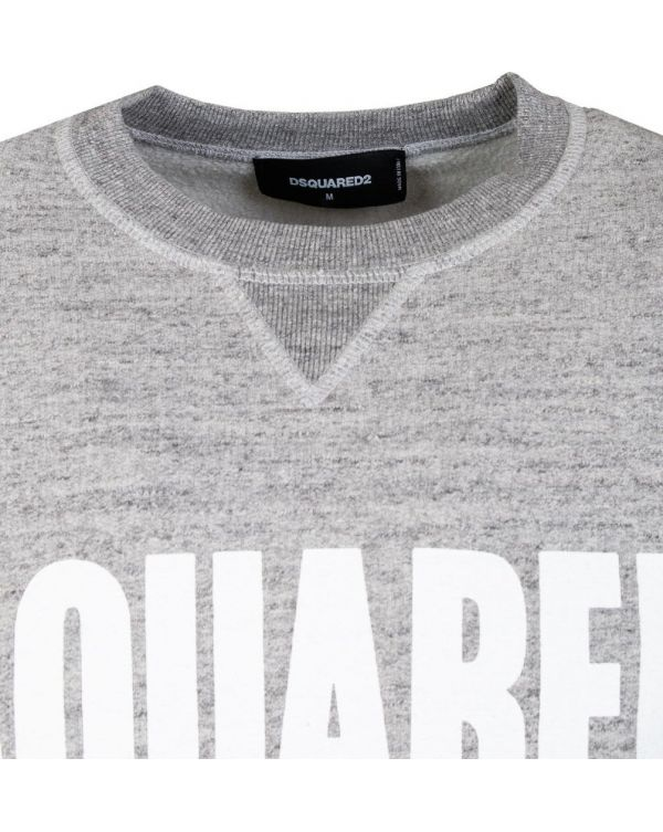 Dsquared2 Chest Logo Crew Neck Sweat