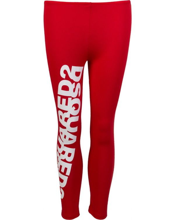 Mirrored Logo Leggings