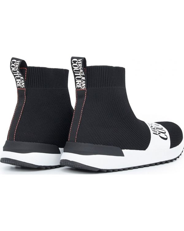 Logo Knitted Sock Boots