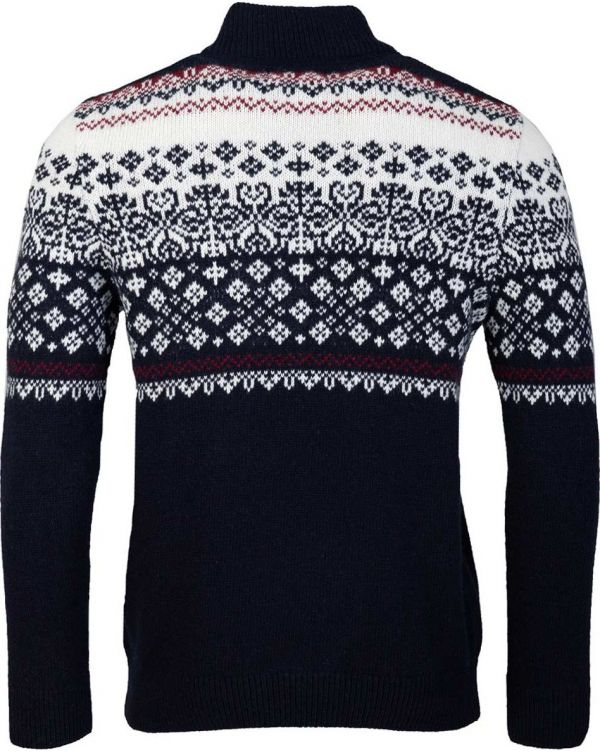 Fairisle Half Zip Knit