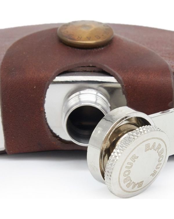 Hinged 4oz Hipflask