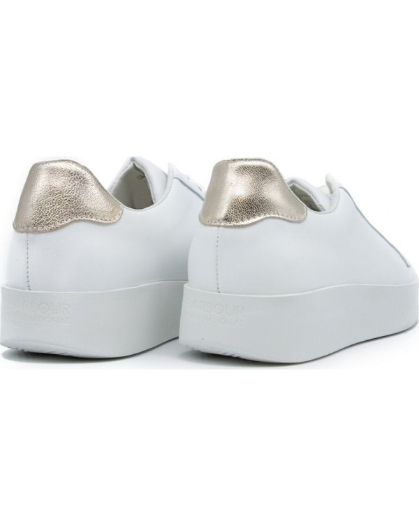 Bianca Contrast Tab Trainers
